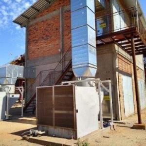 Equipamentos ventilação adiabática