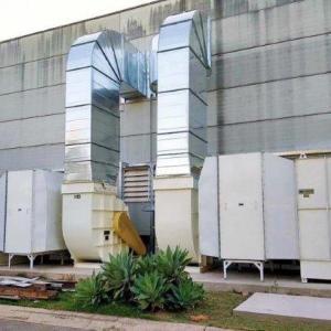 Sistema de climatização adiabático