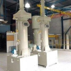 Sistema de lavagem de gases