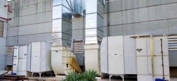 Equipamentos de ventilação industrial